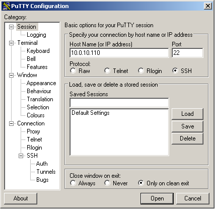 Download PuTTY for Windows 10,7,81/8 (64/32 bits)