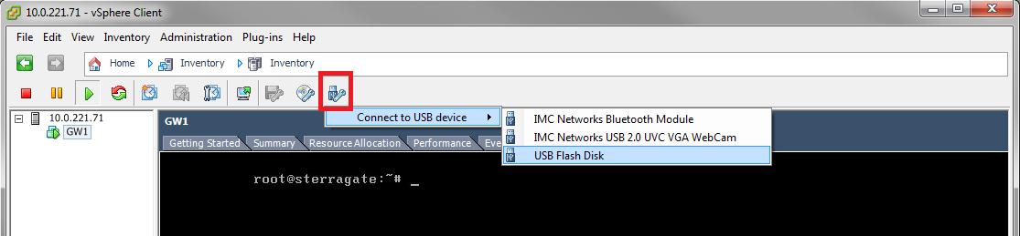Монтирование USB Flash